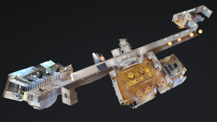 マンション共用部の3Dデータ